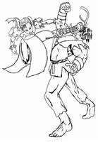 Chun Li vs Ryu by smygba