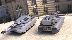 PzKpfw K75 Ausf. B by SteamTank