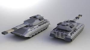 PzKpfw K100 Ausf. A by SteamTank