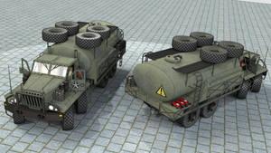 SeAZ-4506 Fuel truck by SteamTank