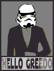 HelloGreedo by 8-Cell-Art