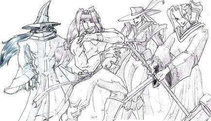 Final Fantasy Cosplay by Jedahl