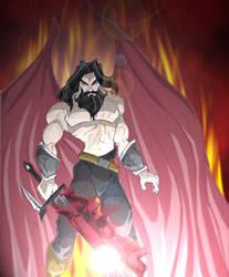 Thoryn in Hell by Jedahl
