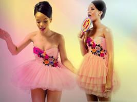 Rihanna, beatiful Girl by Ulenka