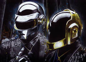 Daft Punk by Giulianobuffi