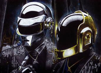 Daft Punk by Giulianobuffi
