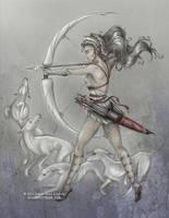 Artemis by sketchykraft