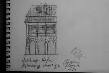 A Chunk of the Hamburg Hafen/Dock Alsterkrug Hotel by HusseinHorack
