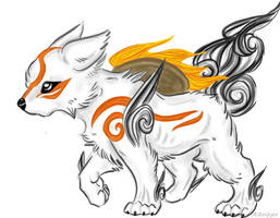 Chibi Amaterasu by Zolfyer