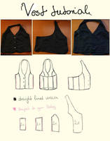 Vest tutorial by kecsy