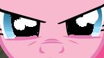 Pinkie's Stare by AtomicGreymon