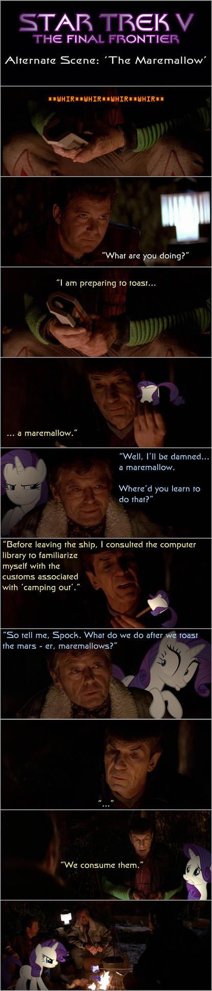 Star Trek V: The Maremallow by AtomicGreymon