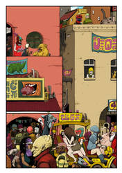 Street Scene by timmolloy