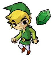 Toon Link by rootyful
