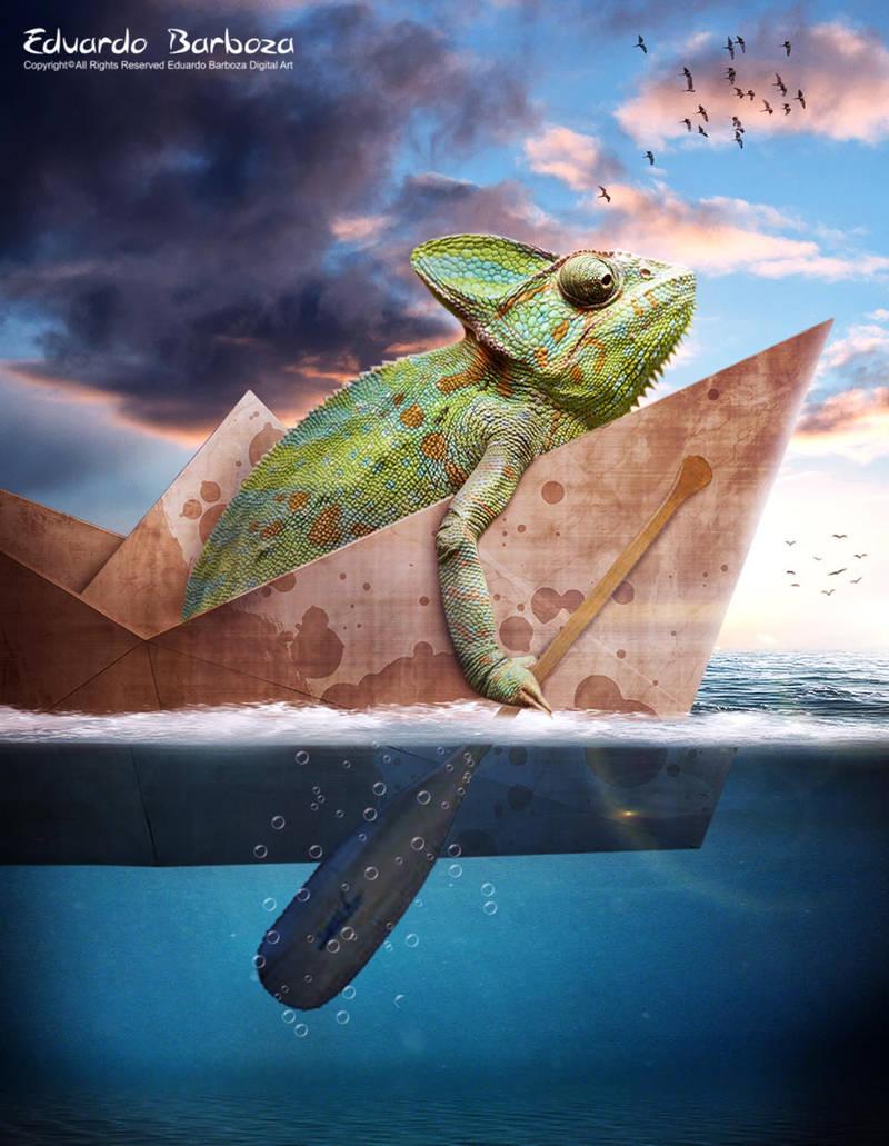 Boat ride by Eduardobass