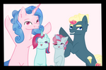 Pinkie's Family by RazziBerriArts
