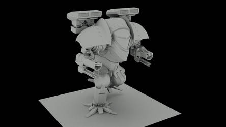 Mech 3D by axeeater
