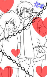 (RQ) Ayuka Kurenai x Izaya Orihara: Chains Of Love by SerenityBlissful