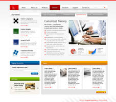 Corporate Website Design by bennywai