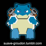 009 Blastoise by Suave-Groudon