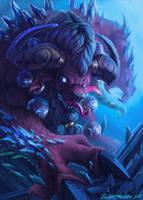 Frozen  chieftain by JunkieSlasher