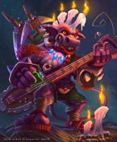 Heavy kobold by JunkieSlasher