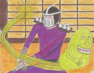 Shredder Gets Slimed by SunfireRanger