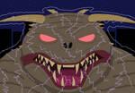 Ghostbusters - Energized Zuul by SunfireRanger