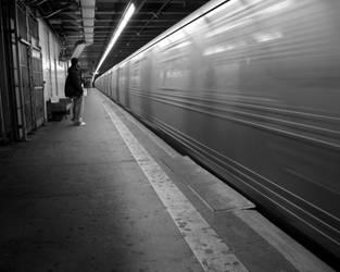 New York Subway Wallpaper by elsnaibs