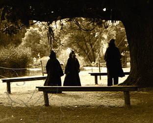 Druids walk amongst us by Devinia101