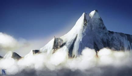[Practice]: Mountain range by T0xicEye
