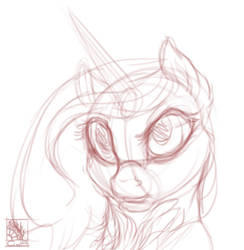 [MLP]: FREE YCH BUST AUCTION [CLOSED] by T0xicEye