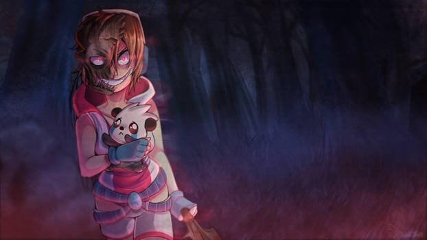 Bahroo: Dead by Daylight (No Gore) by DrawnTilDawn