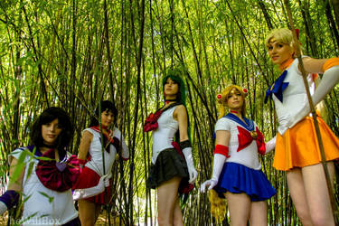 Sailor Senshi by SoftBells