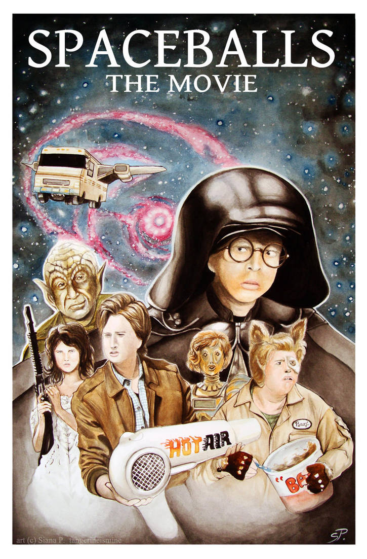 Spaceballs Poster by tangerineismine