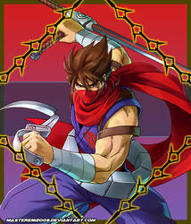 Project X Zone 2 Avatar - Strider Hiryu by MasterEni2009