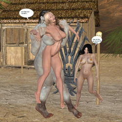 Teela vs Neega 23 by cartman666x