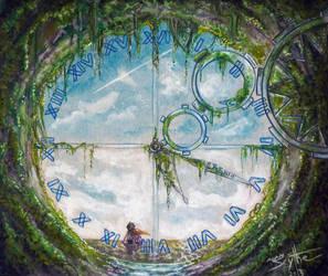 Old Clock Tower by AdamScythe