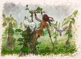 Guardian of the Forest by AdamScythe