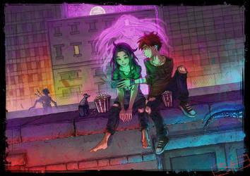 Horror Night by AdamScythe