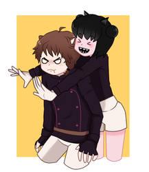 RMA|| abrazo sorpresa(? by SadaoKen