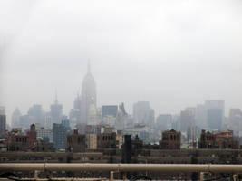 Foggy City by Cynnalia-Stock