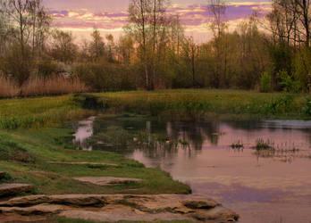Twilight Tranquility by Cynnalia-Stock