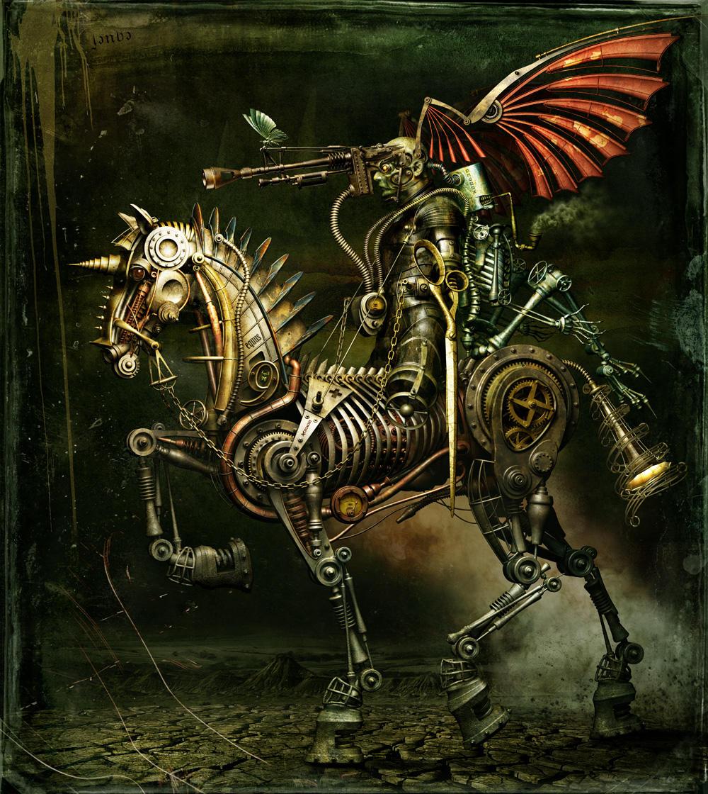 Mechanical Silence by Almacan