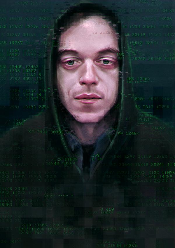 Mr Robot by VarshaVijayan
