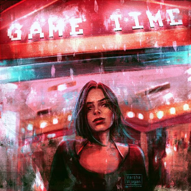 Game Time by VarshaVijayan
