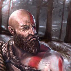 Kratos by VarshaVijayan