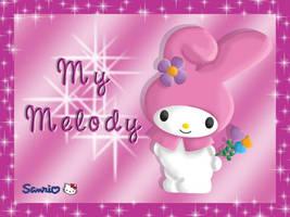 My Melody by lilpurpleperson