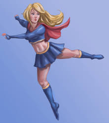 supergirl by ultramike82