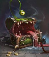 Chest monster by AppleSin